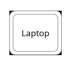 laptop mousepad form standard format 19 x 16 cm PDF